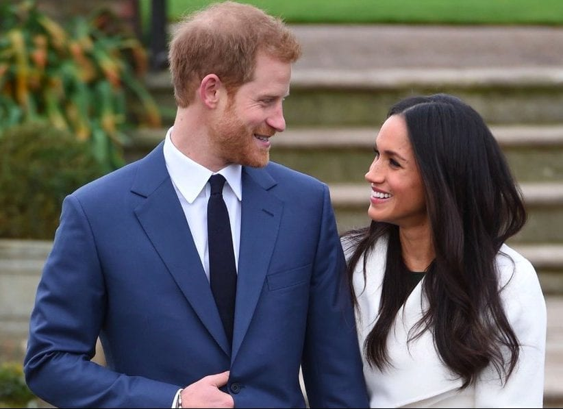 Image of Meghan Markle and Prince Harry Engagement shoot