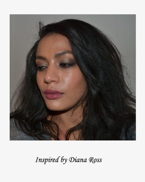 Diana Ross inspired nye makeup