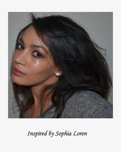 Image of makeup look for sophia loren nye beauty tutorial
