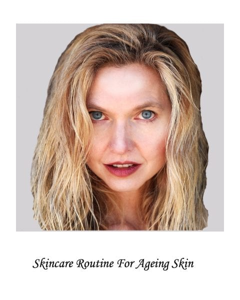 Image of model for Ageing skin skincare routine page