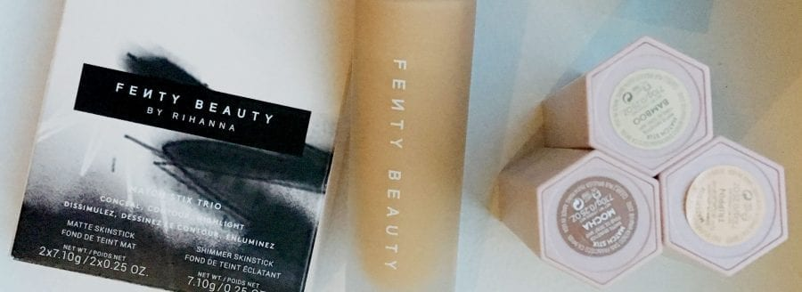Image of Fenty beauty foundation and match stox for reviewon How to Wear Fenty Beauty Like a Grown Up!