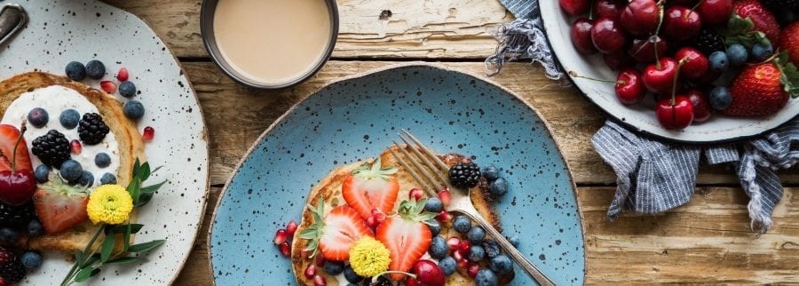 Image of brunch food for post on Sunday Vibes | Chloe Morello, Pineapples & More…