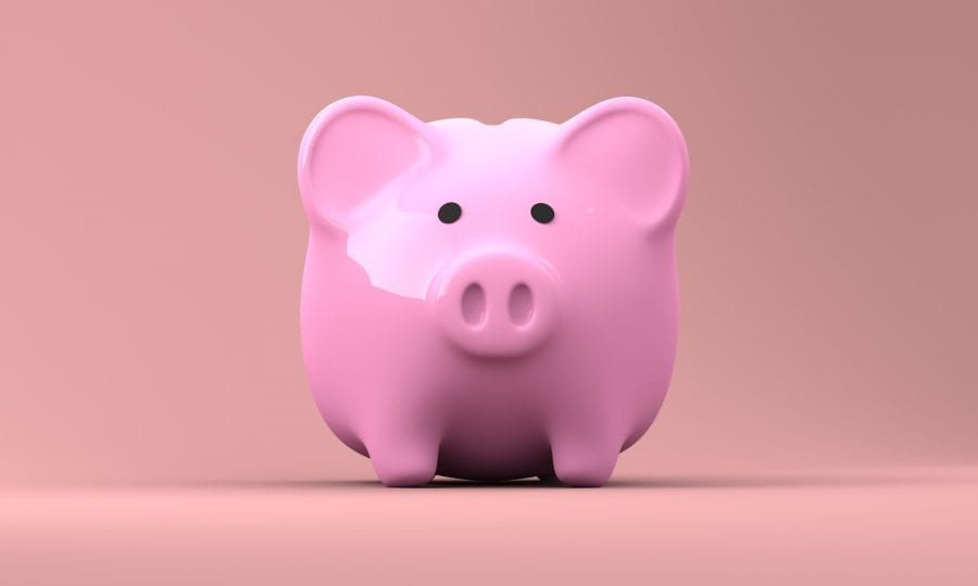 Image of piggy bank for Life Spring Clean - Wealth blog post