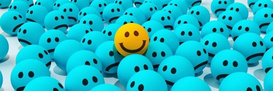 image of smily emoji for life spring clean happiness blog post for city skin clinic in London