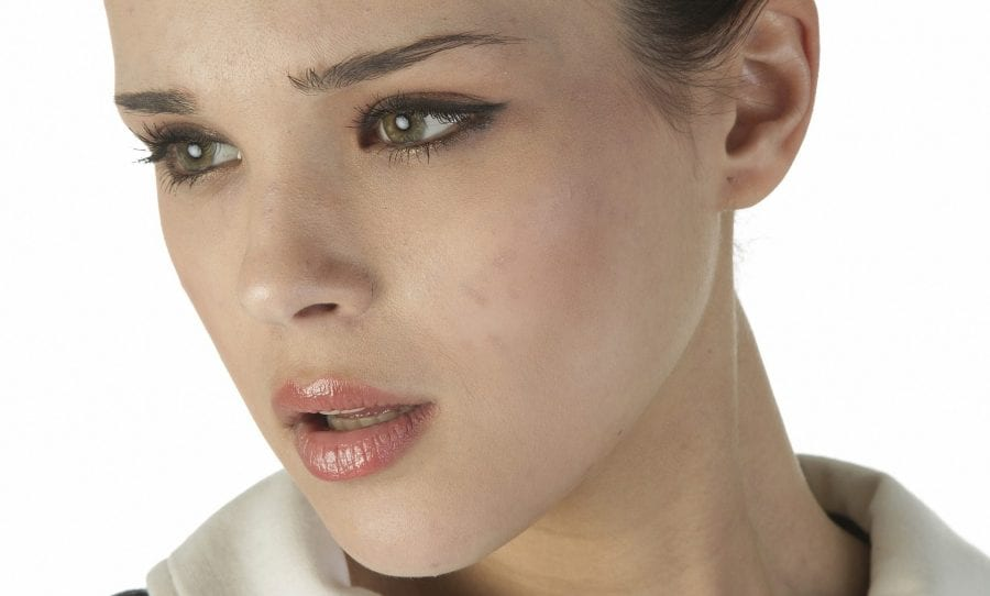 Image of female model for post on non surgical rhinoplasty and modern day nose job in London